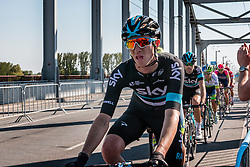 BOSWELL Ian from the United States of Team Sky (GBR) at the final lap (1000M) from the finish line on the John Frost Bridge 'A Bridge Too Far', stage 3 from Nijmegen to Arnhem running 190 km of the 99th Giro d'Italia (UCI WorldTour), The Netherlands, 8 May 2016. Photo by Pim Nijland / PelotonPhotos.com | All photos usage must carry mandatory copyright credit (Peloton Photos | Pim Nijland)