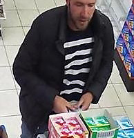 Police Scotland Re-appeal for information regarding the Gleneagles Hotel robbery on Tuesday 27th June 2017….<br />A police handout photo from CCTV of a man they wish to trace in connection with the incident. Police Scotland are very keen to speak to the man in the images who may be able to assist the enquiry. He is believed to have links to the London area<br />Picture by Graeme Hart.<br />Copyright Perthshire Picture Agency<br />Tel: 01738 623350  Mobile: 07990 594431