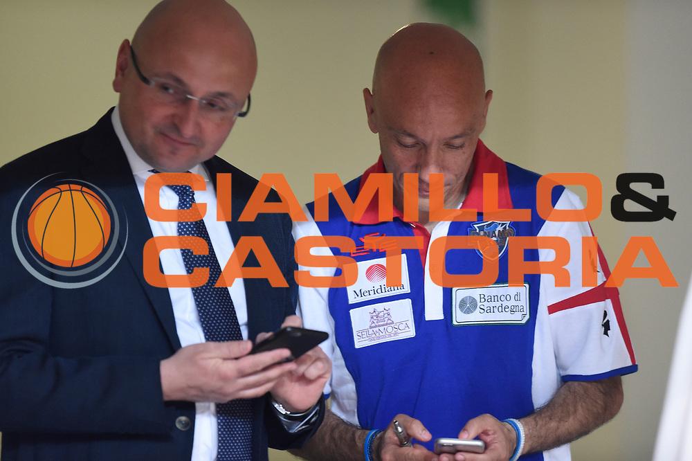 Baioni Giacomo,Sardara Stefano<br /> Quarti diFinale Gara 2<br /> Legabasket A 2016,2017<br /> Trento 14,05,2017<br /> Foto Ciamillo-Castoria,GiulioCiamillo