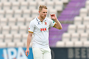 Jamie Porter of Essex during the second day of play in the Specsavers County Champ Div 1 match between Hampshire County Cricket Club and Essex County Cricket Club at the Ageas Bowl, Southampton, United Kingdom on 28 April 2018. Picture by Graham Hunt.