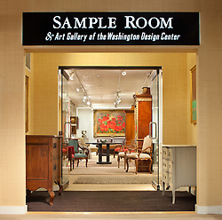 Sample room at Washington DC Design Center