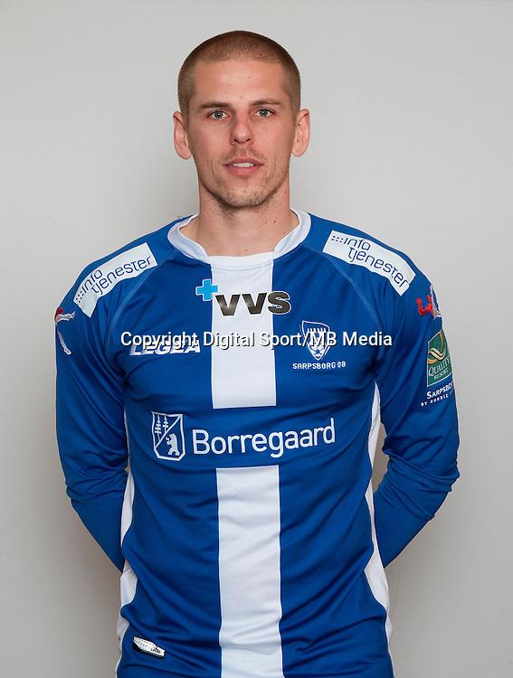 Fotball , Tippeligaen 2013 , Eliteserien , portrett , portretter , Sarpsborg08 , Christian Brink<br /> Foto: Astrid M. Nordhaug
