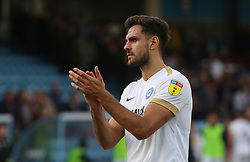 Ryan Tafazolli of Peterborough United acknowledges the supporters at full-time - Mandatory by-line: Joe Dent/JMP - 13/10/2018 - FOOTBALL - Glanford Park - Scunthorpe, England - Scunthorpe United v Peterborough United - Sky Bet League One