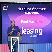 Speaker Paul Harrison at the London Motor & Tech Show‎ opening day on 16 May 2019, at Excel London, UK.