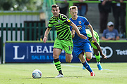 Forest Green Rovers Kevin Dawson(18) runs forward during the EFL Sky Bet League 2 match between Forest Green Rovers and Grimsby Town FC at the New Lawn, Forest Green, United Kingdom on 17 August 2019.