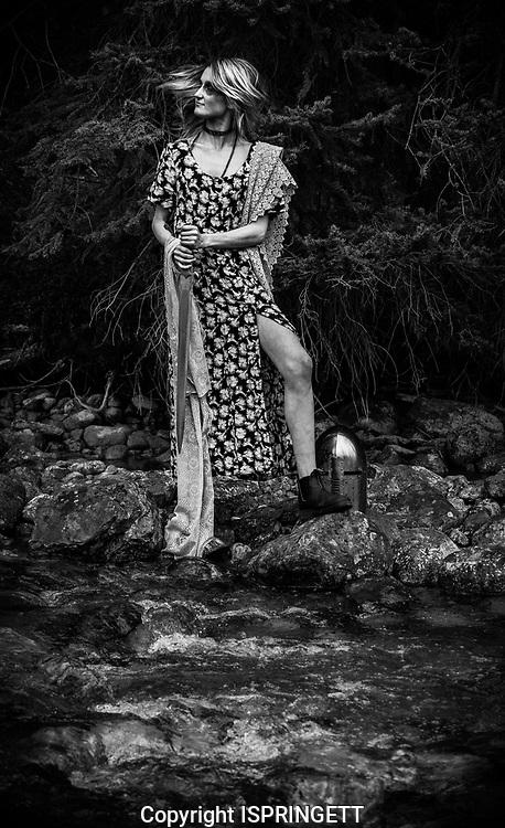 River sword shoot., Alberta, Canada, Isobel Springett