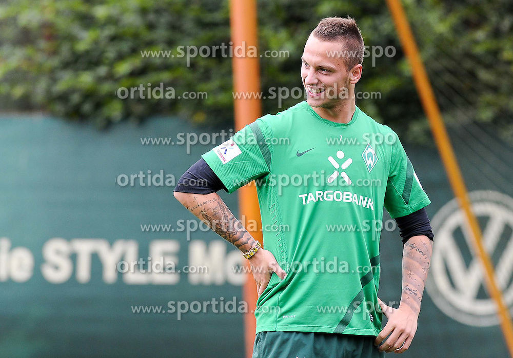 16.08.2011, Trainingsgelaende, Bremen, GER, 1.FBL, Training Werder Bremen, im Bild Marko Arnautovic (Bremen #7)..// during training session from Werder Bremen on 2011/08/16, Trainingsgelaende, Bremen, Germany..EXPA Pictures © 2011, PhotoCredit: EXPA/ nph/  Frisch       ****** out of GER / CRO  / BEL ******