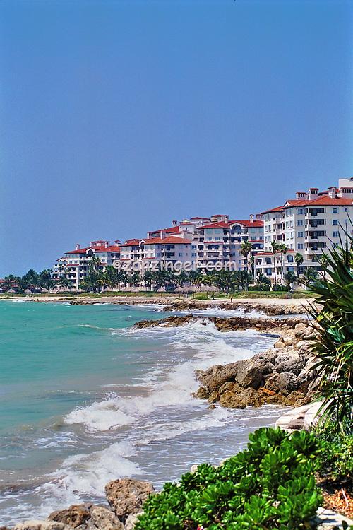 Fisher Island; FL; Intracoastal Waterway, Miami Florida, Luxury Condos Miami; Florida; USA; Atlantic Coast, luxurious, vacation,  breathtaking views,