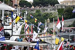 May 26, 2019 - Monte Carlo, Monaco - Motorsports: FIA Formula One World Championship 2019, Grand Prix of Monaco, ..Fans  (Credit Image: © Hoch Zwei via ZUMA Wire)