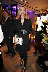 ALLEGRA HICKS at a party to launch the book 'Italian Touch' - A Celebration of Italian Lifestyle held at TOD's, 2-5 Old Bond Street, London on 4th November 2009.