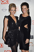 29.NOVEMBER.2011. LONDON<br /> <br /> GEMMA MERNA AND JENNIFER METCALFE ATTENDING THE OK MAGAZINE PARTY AT FLORIDITA IN SOHO, LONDON<br /> <br /> BYLINE: EDBIMAGEARCHIVE.COM<br /> <br /> *THIS IMAGE IS STRICTLY FOR UK NEWSPAPERS AND MAGAZINES ONLY*<br /> *FOR WORLD WIDE SALES AND WEB USE PLEASE CONTACT EDBIMAGEARCHIVE - 0208 954 5968*