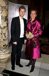 CHRISTOPHER BAILEY Design Director of Burberry and ROSE MARIE BRAVO Chief Executive of Burberry at the 2004 British Fashion Awards held at Thhe V&A museum, London on 2nd November 2004.<br /><br />NON EXCLUSIVE - WORLD RIGHTS