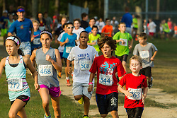 Family Fun Run night at Falmouth High School