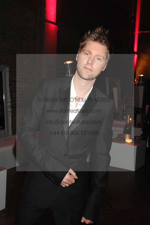 CHRISTOPHER BAILEY at the British Fashion Awards 2007 held at the Royal Horticultural Halls, Vincent Square, London on 28th November 2007.<br /><br />NON EXCLUSIVE - WORLD RIGHTS