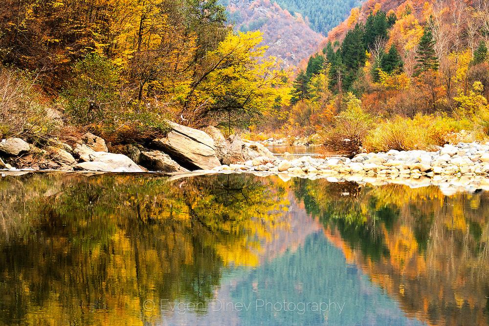 Rhodope Mountains in Autumn