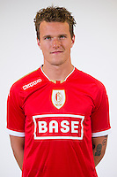 Standard's Alexander Scholz pictured during the 2015-2016 season photo shoot of Belgian first league soccer team Standard de Liege, Monday 13 July 2015 in Liege.