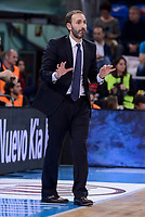 berostar Tenerife's Coach Sito Alonso during Quarter Finals match of 2017 King's Cup at Fernando Buesa Arena in Vitoria, Spain. February 16, 2017. (ALTERPHOTOS/BorjaB.Hojas)