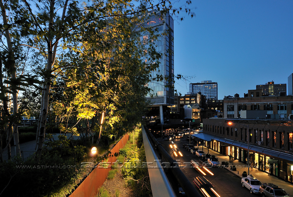 The High Line Park in Manhattan