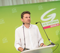 18.07.2017, Labstelle, Wien, AUT, Grüne, Sitzung des erweiterten Bundesvorstandes. im Bild Klubobmann der Grünen Albert Steinhauser // Leader of the parliamentary group of the greens Albert Steinhauser during board meeting of the greens in Vienna, Austria on 2017/07/18. EXPA Pictures © 2017, PhotoCredit: EXPA/ Michael Gruber