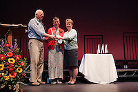 Chamber of Commerce Community Hero Awards presentation at the Winnipesaukee Playhouse.  ©2014 Karen Bobotas Photographer