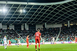 Darko Velkoski of Macedonia during football match between National teams of Slovenia and North Macedonia in Group G of UEFA Euro 2020 qualifications, on March 24, 2019 in SRC Stozice, Ljubljana, Slovenia.  Photo by Matic Ritonja / Sportida