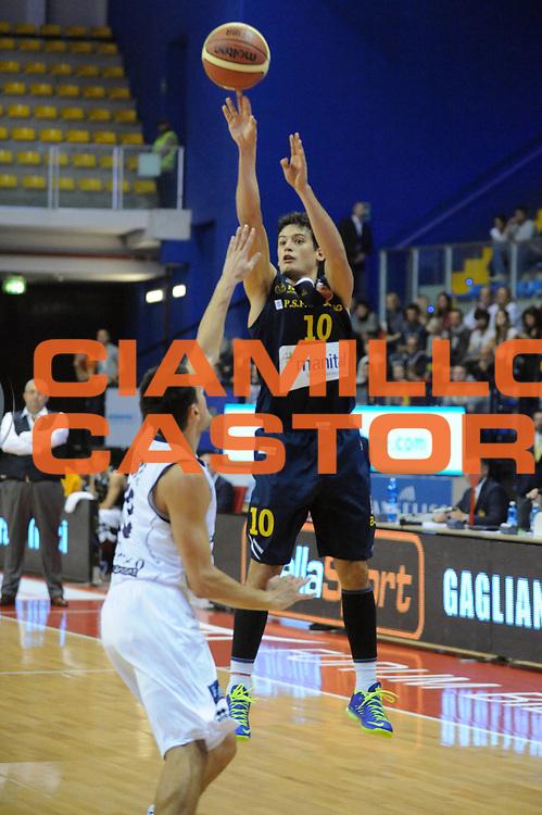 DESCRIZIONE : Biella LNP DNA Adecco Gold 2013-14 Angelico Biella Manital Torino<br /> GIOCATORE : Massimo Chessa<br /> CATEGORIA : Tiro<br /> SQUADRA : Manital Torino<br /> EVENTO : Campionato LNP DNA Adecco Gold 2013-14<br /> GARA : Angelico Biella Manital Torino<br /> DATA : 20/10/2013<br /> SPORT : Pallacanestro<br /> AUTORE : Agenzia Ciamillo-Castoria/Max.Ceretti<br /> Galleria : LNP DNA Adecco Gold 2013-2014<br /> Fotonotizia : Biella LNP DNA Adecco Gold 2013-14 Angelico Biella<br /> Predefinita :