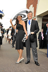 CAROL VORDERMAN and DES KELLY at the 3rd day of Royal Ascot 2009 on 18th June 2009.