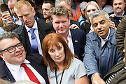 Vigil for the people murdered in the Pulse Club shooting in Orlando Florida by Omar Mateen<br /> in Old Compton Street, London, Great Britain <br /> 13th June 2016 <br /> <br /> with Sadiq Khan <br /> Mayor of London <br /> <br /> Tom Watson <br /> deputy Leader of the labour Party <br /> <br /> Matthew Barzun  - United States Ambassador to the United Kingdom<br /> Ambassador of the United States <br /> <br /> Photograph by Elliott Franks <br /> Image licensed to Elliott Franks Photography Services
