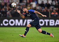 FUSSBALL UEFA Nations League in Muenchen Deutschland - Frankreich       06.09.2018 Olivier Giroud (Frankreich) --- DFB regulations prohibit any use of photographs as image sequences and/or quasi-video. ---