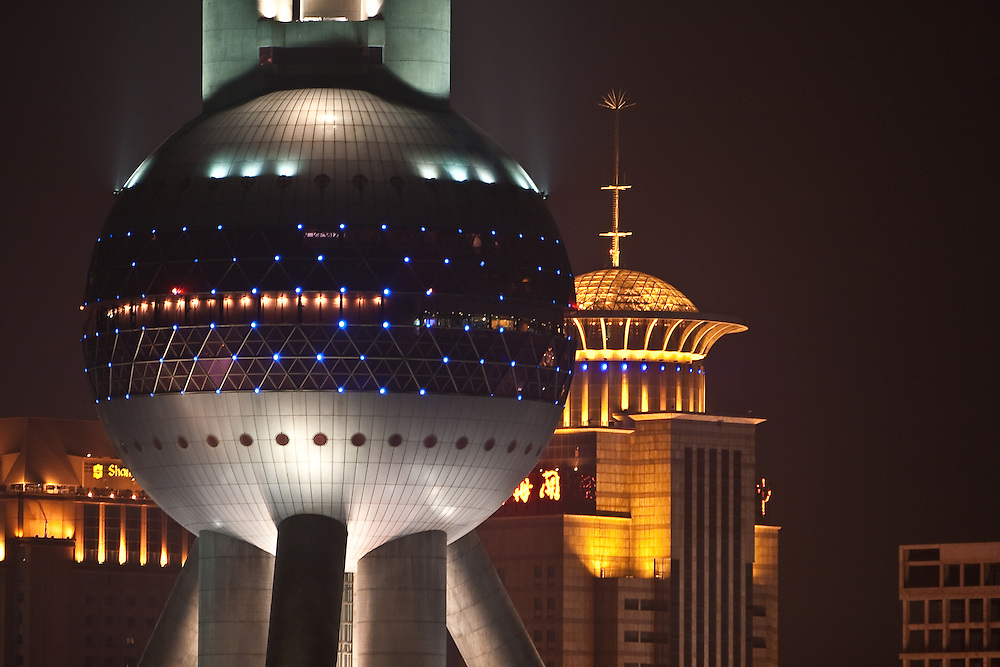 The Pearl Tower in Shanghai