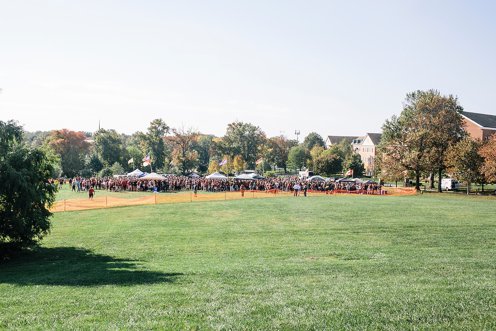 In a designated area, University students with a wristband and ID were allowed to tailgate near the athletic fields outside of Capital One Field at Byrd Stadium before the homecoming football game against Iowa on Oct. 18, 2014.