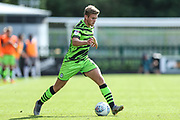 during the EFL Sky Bet League 2 match between Forest Green Rovers and Colchester United at the New Lawn, Forest Green, United Kingdom on 14 September 2019.