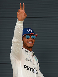 File photo dated 09-07-2016 of Mercedes' Lewis Hamilton.