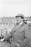 Dublin Cattle Market. Prominent Dublin Salesmaster, Robert Ganley..25.04.1962