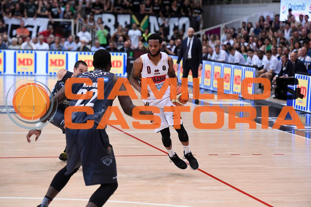 Marquez Haynes<br /> Dolomiti Energia Aquila Basket Trento - Umana Reyer Venezia <br /> Lega Basket Serie A 2016/17 Finali Gara 04<br /> Trento, 16/06/2017<br /> Foto Ciamillo-Castoria