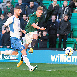Hibs v Queen of the South | Scottish Championship | 15 November 2014