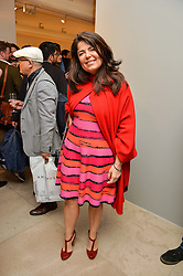 DANIELLA HELAYEL at a private view of Bright Young Things held at the David Gill Gallery, 2-4 King Street, London on 19th April 2016.