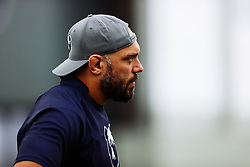 John Afoa looks on as Bristol Bears start to use their new almost completed Training centre - Rogan/JMP - 08/07/2020 - RUGBY UNION - Beggar Bush Lane - Bristol, England.