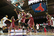 DALLAS, TX - FEBRUARY 19: Yanick Moreira #2 of the SMU Mustangs drives to the basket against the Temple Owls on February 19, 2015 at Moody Coliseum in Dallas, Texas.  (Photo by Cooper Neill/Getty Images) *** Local Caption *** Yanick Moreira