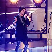 NLD/Hilversum/20160129 - Finale The Voice of Holland 2016,  Waylon