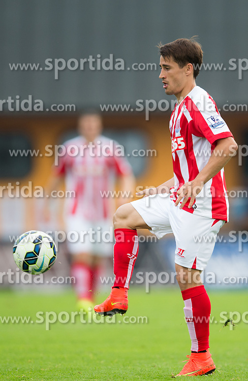 29.07.2014, Kufstein Arena, Kufstein, AUT, FS Vorbereitung, Testspiel, FC Schalke 04 vs Stoke City, im Bild Bojan Krkic (Stoke City) // during a Friendly Match between FC Schalke 04 and Stoke City at the Kufstein Arena, Kufstein, Austria on 2014/07/29. EXPA Pictures © 2014, PhotoCredit: EXPA/ Johann Groder