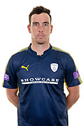 Kyle Abbott of Hampshire during the Hampshire CCC photo call 2017 at  at the Ageas Bowl, Southampton, United Kingdom on 12 April 2017. Photo by David Vokes.