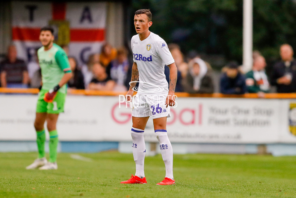 Leeds United Ben White (26)  during the Pre-Season Friendly match between Tadcaster Albion and Leeds United at i2i Stadium, Tadcaster, United Kingdom on 17 July 2019.