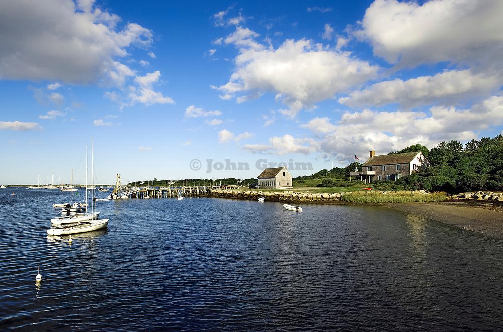 Harbor scenic, Chatham, Cape Cod, Massachusetts, USA