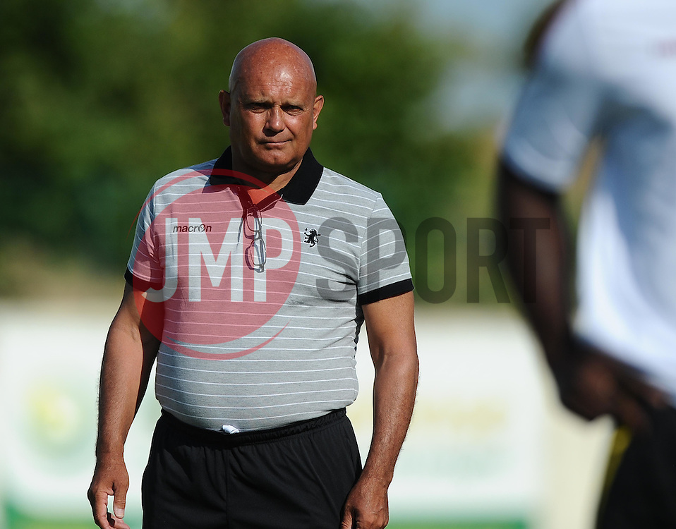 Aston Villa Assistant Manager, Ray Wilkins  - Photo mandatory by-line: Joe Meredith/JMP - Mobile: 07966 386802 - 17/07/2015 - SPORT - Football - Albufeira - Estadio Da Nora - Pre-Season Friendly