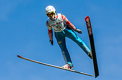Urša Bogataj (SLO) during Ski jumping Summer cup - 45. Revija skokov Mostec on June 4, 2016 in Mostec hill, Ljubljana, Slovenia.Photo by Vid Ponikvar / Sportida