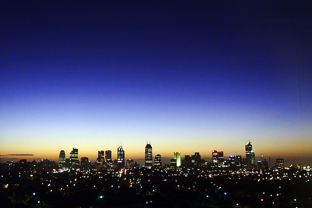 Photosales Website .DIGICAM 00004525 csz000101.003.001.jpg..Digicam00004525..The sun rises over Melbourne for the first time this Millennium, picture taken from the housing commission flats in Flemington cnr melrose and sutton streets.  Pic by Craig Sillitoe melbourne photographers, commercial photographers, industrial photographers, corporate photographer, architectural photographers, This photograph can be used for non commercial uses with attribution. Credit: Craig Sillitoe Photography / http://www.csillitoe.com<br />