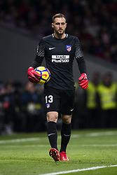 November 18, 2017 - Madrid, Madrid, Spain - Oblak during the match between Atletico de Madrid and Real Madrid, week 12 of La Liga at Wanda Metropolitano stadium, Madrid, SPAIN - 18th November of 2017. (Credit Image: © Jose Breton/NurPhoto via ZUMA Press)