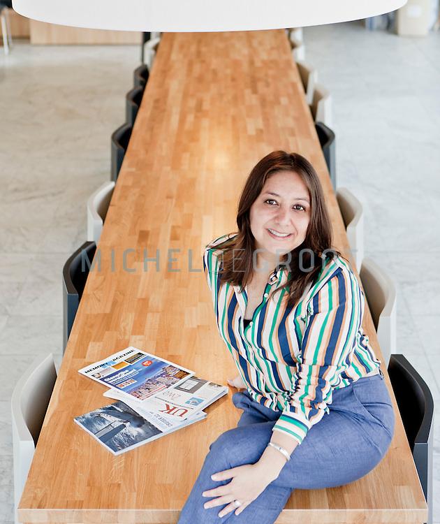 Brenda Valencia Bazalar, Law student at the University of Groningen