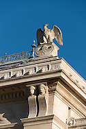 France. paris. 1st district , Palais de Jusctice facade and sculptures